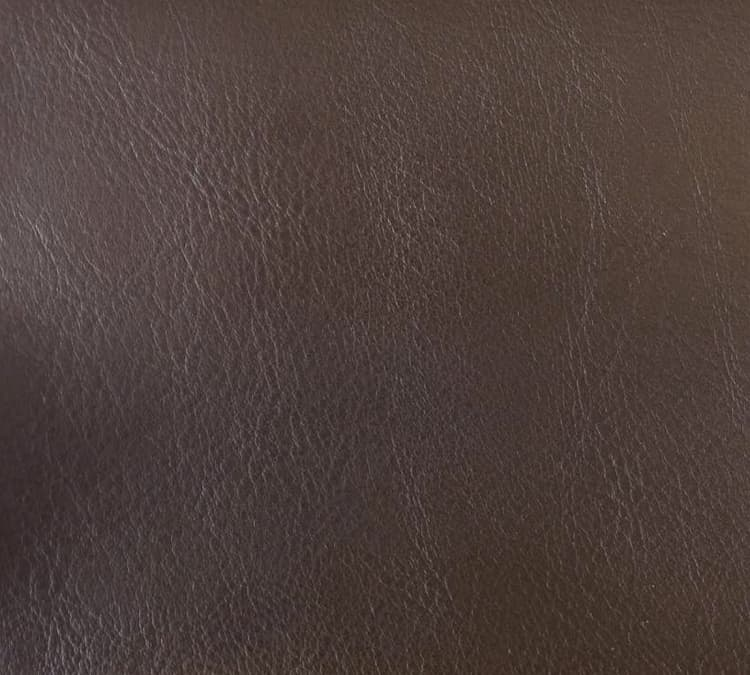 Custom Bed Upholstery Faux Leather Brown