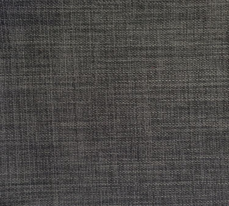Custom Bed Upholstery Linen Charcoal