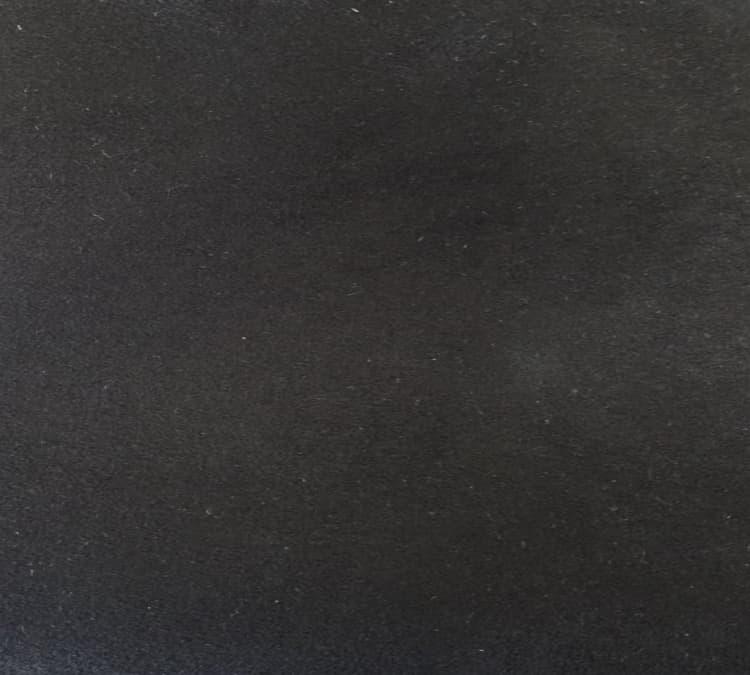 Custom Bed Upholstery Suede Black
