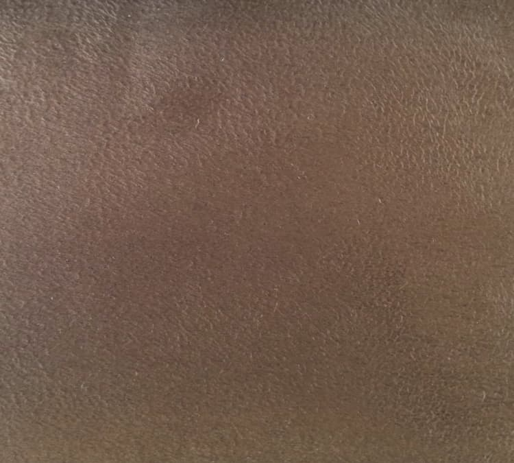 Custom Bed Upholstery Suede Brown