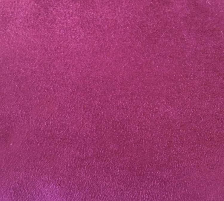 Custom Bed Upholstery Suede Pink